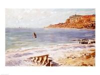 Seascape at Sainte-Adresse by Claude Monet - various sizes