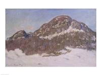 Mount Kolsaas in Sunlight, 1895 by Claude Monet, 1895 - various sizes