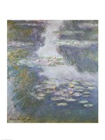 Waterlilies, Nympheas, 1908 by Claude Monet, 1908 - various sizes