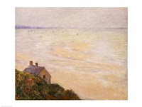The Hut at Trouville, Low Tide, 1881 by Claude Monet, 1881 - various sizes