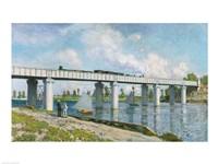 Railway Bridge at Argenteuil, 1873 by Claude Monet, 1873 - various sizes