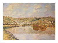 End of the Afternoon, Vetheuil Fine Art Print