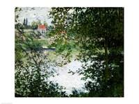 Ile de La Grande Jatte Through the Trees, 1878 by Claude Monet, 1878 - various sizes