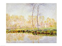 The Banks of the River Epte at Giverny, 1887 by Claude Monet, 1887 - various sizes, FulcrumGallery.com brand