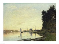 Argenteuil, Late Afternoon, 1872 by Claude Monet, 1872 - various sizes, FulcrumGallery.com brand