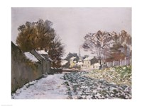 Snow at Argenteuil, 1874 by Claude Monet, 1874 - various sizes