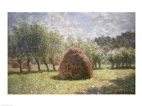 Haystacks at Giverny, 1893 Fine Art Print