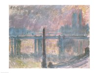 Cleopatra's Needle and Charing Cross Bridge, 1899 by Claude Monet, 1899 - various sizes