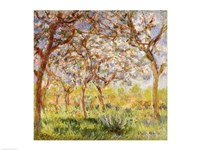 Spring at Giverny by Claude Monet - various sizes