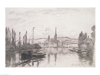 View of Rouen, 1883 by Claude Monet, 1883 - various sizes, FulcrumGallery.com brand