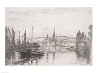 View of Rouen, 1883 Fine Art Print