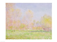 Spring in Giverny, 1890 Fine Art Print