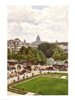 Garden of the Princess, Louvre, 1867 by Claude Monet, 1867 - various sizes - $15.99