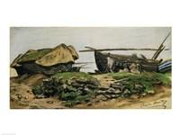 Pres d'Etretat by Claude Monet - various sizes - $16.49