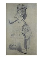 The Scotsman with a Pipe, 1857 Fine Art Print