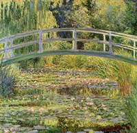 Waterlily Pond, 1899 by Claude Monet, 1899 - various sizes