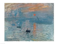 Impression: Sunrise, 1872 Fine Art Print