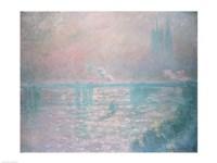 Charing Cross Bridge, 1899 by Claude Monet, 1899 - various sizes
