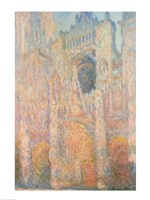 Rouen Cathedral, 1891 by Claude Monet, 1891 - various sizes