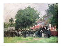 The Fourteenth of July (Bastille Day) Fine Art Print