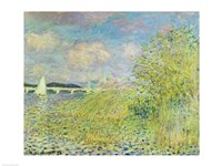 The Seine at Chatou near Argenteuil, 1878 by Claude Monet, 1878 - various sizes, FulcrumGallery.com brand