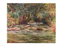 The River Epte at Giverny, 1884 Fine Art Print