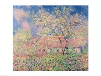 Springtime at Giverny, 1880 by Claude Monet, 1880 - various sizes