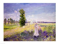 The Walk (Argenteuil), c.1872-75 Fine Art Print