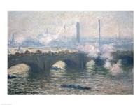 Study of Waterloo Bridge at Dusk, 1903 Fine Art Print