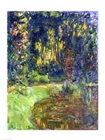 Garden of Giverny, 1923 Fine Art Print