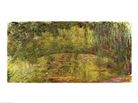 The Japanese Bridge, 1918 by Claude Monet, 1918 - various sizes, FulcrumGallery.com brand