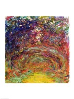 The Rose Path at Giverny-22, 1920 by Claude Monet, 1920 - various sizes - $15.99