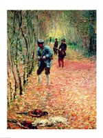 The Shoot (detail), 1876 by Claude Monet, 1876 - various sizes, FulcrumGallery.com brand
