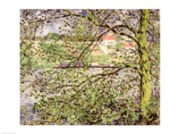 Through the Trees, 1878 by Claude Monet, 1878 - various sizes