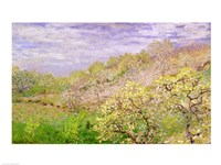 Trees in Blossom by Claude Monet - various sizes