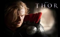 Thor  Chris Hemsworth Wall Poster