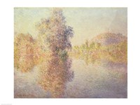 Morning on the Seine at Giverny, 1893 by Claude Monet, 1893 - various sizes