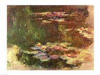 The Lily Pond, c.1917 Fine Art Print
