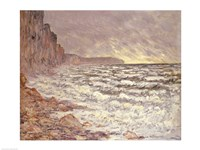 The Sea at Fecamp, 1881 by Claude Monet, 1881 - various sizes