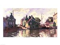 Zaandam by Claude Monet - various sizes, FulcrumGallery.com brand