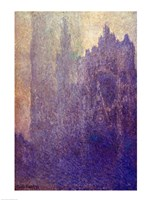 Rouen Cathedral, Foggy Weather, 1894 Fine Art Print