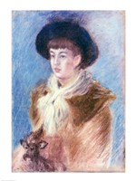Suzanne (1869-99) by Claude Monet - various sizes - $16.49