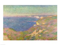 The Cliffs Near Dieppe, 1897 by Claude Monet, 1897 - various sizes