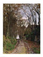 Path in Normandy by Claude Monet - various sizes