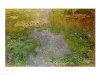 Waterlilies, 1919 by Claude Monet, 1919 - various sizes, FulcrumGallery.com brand