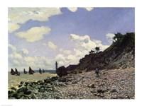 Beach at Honfleur, 1867 by Claude Monet, 1867 - various sizes