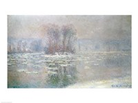 Ice at Bennecourt, 1898 by Claude Monet, 1898 - various sizes