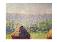 The Haystacks or, The End of the Summer, at Giverny, 1891 by Claude Monet, 1891 - various sizes - $16.49