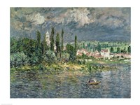 Landscape with a Thunderstorm by Claude Monet - various sizes