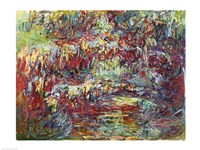 The Japanese Bridge at Giverny-24, 1918 by Claude Monet, 1918 - various sizes